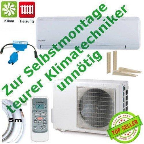 Split klimaanlage selbstmontage for Klimaanlage dachmontage