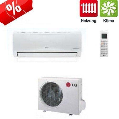 Lg econ inverter split klimaanlage for Klimaanlage dachmontage