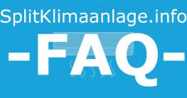 SplitKlimaanlage.info FAQ