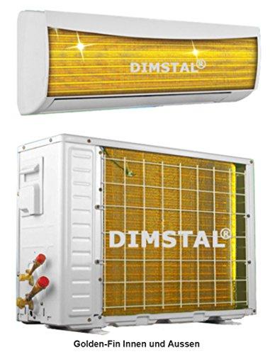 DIMSTAL Golden-Fin Lotus-Effekt Split Klimaanlage