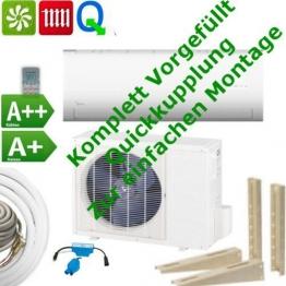 Berühmt Split Klimaanlage Selbstmontage | SplitKlimaanlage.info JB32